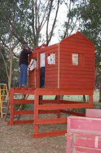15.Building the Cubby with Daryl