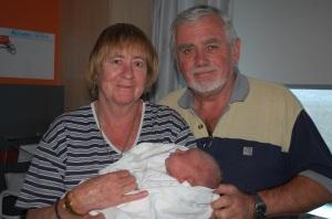 3.Proud Grandparents