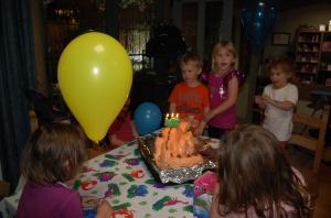 5.Singing Happy Birthday