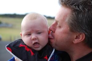 11. Jamie annoying his son