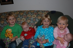 17. Cousins at Easter